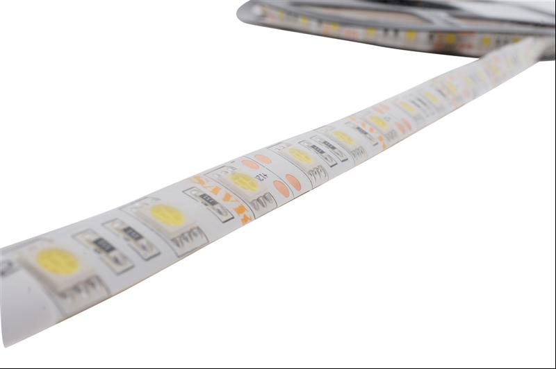 LED ŞERİT WP IP65 60LED/M 14.4W/M 12V 3 ÇİPLİ(SMD5050) MAVİ ŞAVK